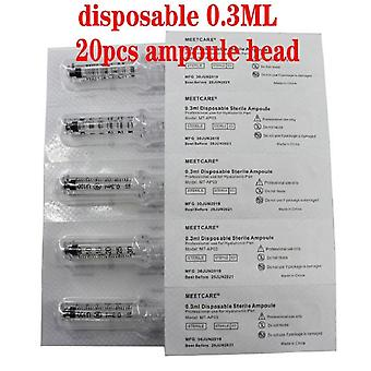Disposable Sterile Ampoule Head For Hyaluron Pen Hyaluronic Acid Gun Atomizer Anti-wrinkle For Lip Filler Lifting