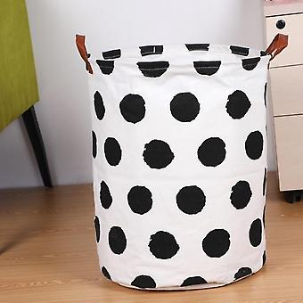 Collapsible Clothes Toy, Laundry Holder Organizer - Folding Laundry Basket,
