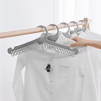 Multifunctional Portable Folding Clothes Drying Rack Hangers For Trouser Coat Towel