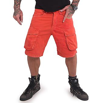 YAKUZA Men's Cargoshorts Indian Skull
