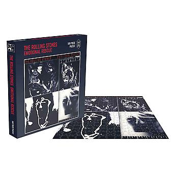 The Rolling Stones Jigsaw Puzzle Emotional Rescue Album Cover Official 500 Piece