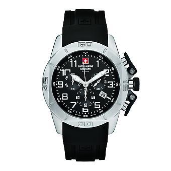 Swiss Alpine Military 7063, 9837SAM montre homme chronographe