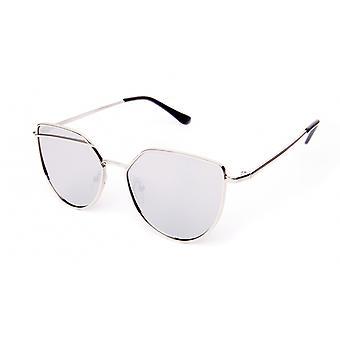 Sunglasses Unisex silver/silver