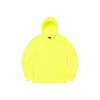 Supreme Overdyed Hooded Sweatshirt (Ss20) Helder Geel - Kleding