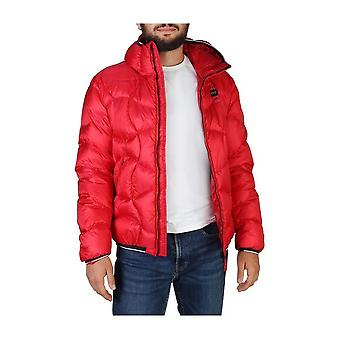 Blue - Clothing - Jackets - 19WBLUC03049-004938_551 - Men - Red - M