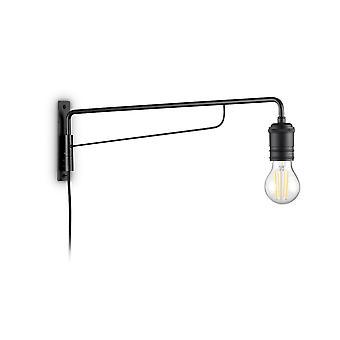 Ideal Lux TRIUMPH - Innenwandleuchte 1 Light Black, E27