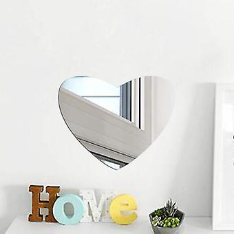 Nordic Style Acrylic Mirror Wall Sticker - Cartoon Kids Room Wall Props