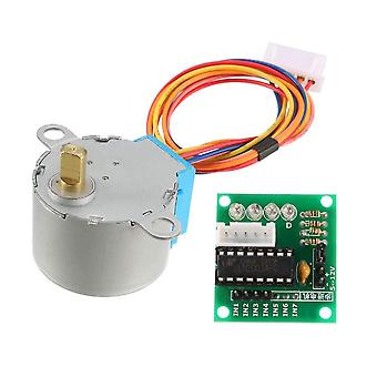 Smart Electronics 28byj-48 5v 4 Phase Dc Gear Stepper Motor + Uln2003 Driver Board For Arduino Diy Kit