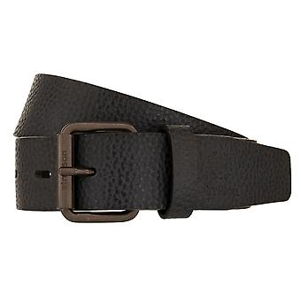 Strellson belts men's belts leather belt black by 2030