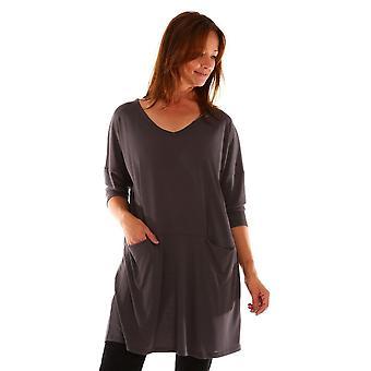 MASAI CLOTHING Masai Grey Tunic Glendi 1002160