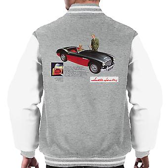 Austin Healey Black 100 Six British Motor Heritage Men's Varsity Jacket