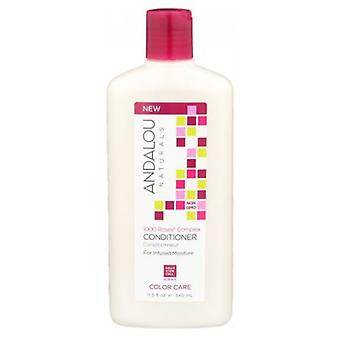 Andalou Naturals 1000 Roses Complex Color Care Conditioner, 11.5 Oz