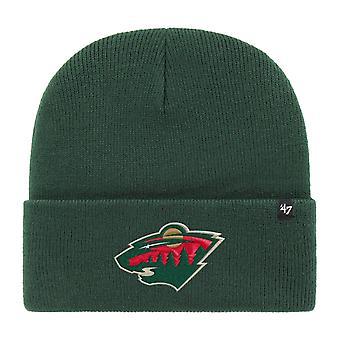 47 Brand Beanie Winter Hat - HAYMAKER Minnesota Wild