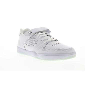ES Accel Slim Plus X Muckmouth Mens White Leather Lace Up Sneakers Shoes