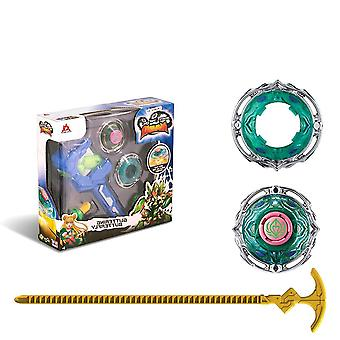 3 Stunt Set Toy Including Split Arena Launcher, Spinning, Beyblade Toy