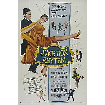 Juke Box rytm plakat filmowy (11 x 17)