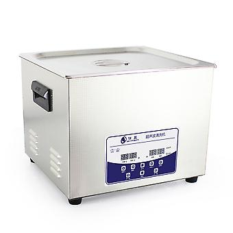 15l Professional Ultrasonic Cleaner Machine z cyfrowym touchpad timer podgrzewana pojemność zbiornika ze stali nierdzewnej Regulowana