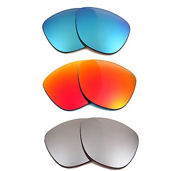 Výměna čoček pro Oakley Frogskins sluneční brýle Multi-barevný vyhlazené vyhlazení UV400 pomocí SeekOptics