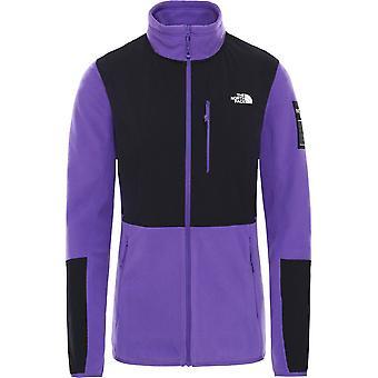 North Face Women's Diablo Fleece Jacket - Peak Purple/TNF Black