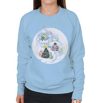Care Bears Christmas Snow Castle Women's Sweatshirt