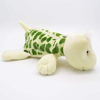Lindo, suave y peluche patrón animal- Caja lápiz