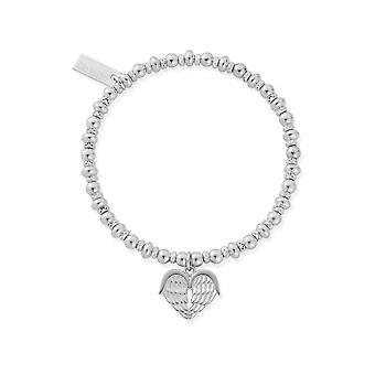 ChloBo SBDS921 Didi Sparkle Heavenly Heart Bracelet