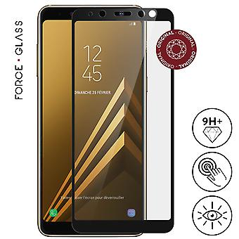 Galaxy A8 Protection Film ForceGlass HeavyDuty Tempered Glass Lifetime Guarantee