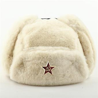 الرجال & apos;ق الجيش العسكري الروسي أوشانكا قاذفة قنابل قبعة الشتاء قبعات دافئة