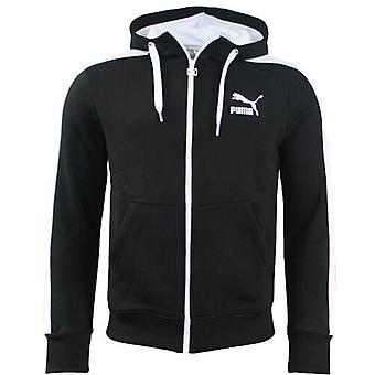 Puma Mens Full Zip Hooded Black Sweat Top Track Jacket 558415 24 A20D