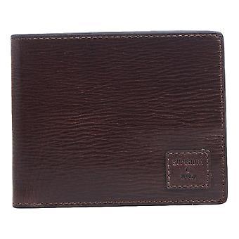 Superdry Benson Boxed Bi-Fold Wallet - Dark Brown