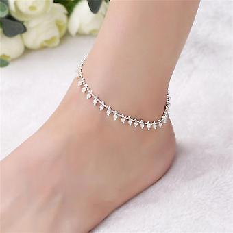 Bracelet de jambe de perles
