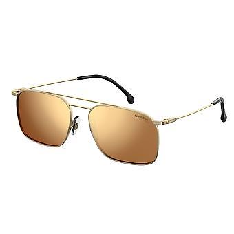Carrera 186/S J5G/K1 Gold/Gold Mirror Sunglasses