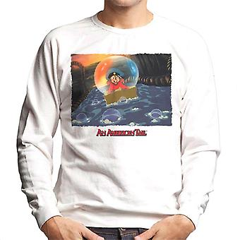 An American Tail Fievel Mousekewitz Stuck In A Bubble Men's Sweatshirt
