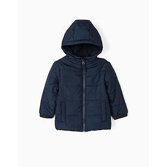 Zippy bebé niño acolchado chaqueta con capucha