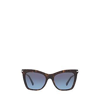 Valentino VA4061 havana vrouwelijke zonnebril