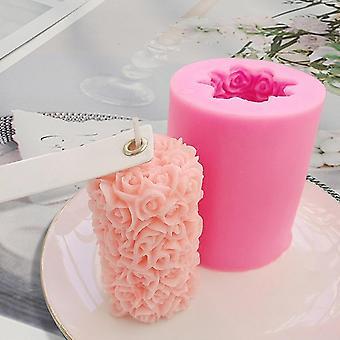 Silikon Formen Blume Kerze Form Diy handgemachte Aromatherapie Kerze Formen