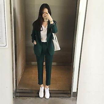 Elegant Office Work Wear Pant Suits