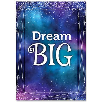 Dream Big Mystic Magical Inspire U Affiche