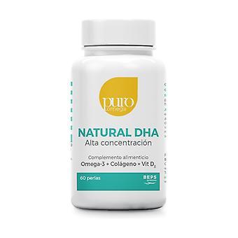 Natural DHA High Concentration 60 softgels
