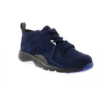 Camper Drift  Mens Blue Suede Lace Up Euro Sneakers Shoes
