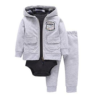 Kurtka dla niemowląt, body i spodnie strój, Design 4