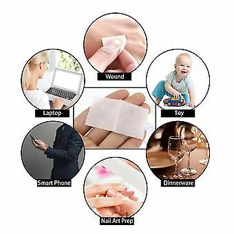 500-pcs Disposable Alcohol Cotton Prep Pad Sterilization Swabs