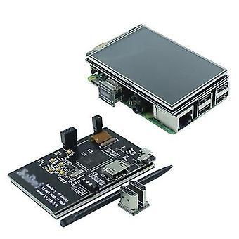 """3.5""""- HDMI Usb, タッチスクリーン, ラズベリーのためのリアルなHD液晶ディスプレイパイ"""