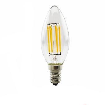 Retro Edison, Led Filament, Glass Vintage Bulb & Candle Light