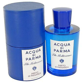 Blu Mediterraneo Mirto Di Panarea Eau De Toilette Spray (Unisex) By Acqua Di Parma 5 oz Eau De Toilette Spray