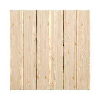 Drewno Ziarna 3d Piankowy Klej Wodoodporny Tapeta