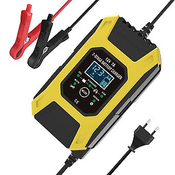 Car battery charger lcd display smart maintainer 7-stages trickle chargers