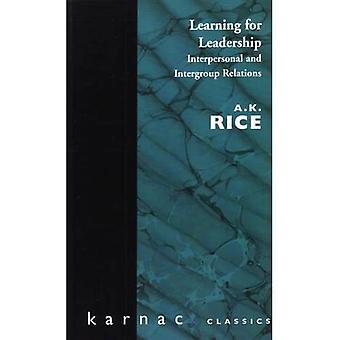 Apprendimento per la leadership: interpersonale e intergruppo