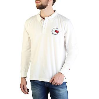 Tommy hilfiger męskie koszulki polo - mw0mw12237