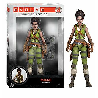 Evolve 4 maggie action figure 6 inches